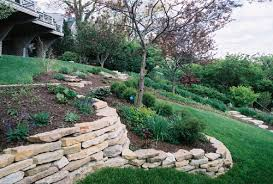 how to build a dry stack retaining wall