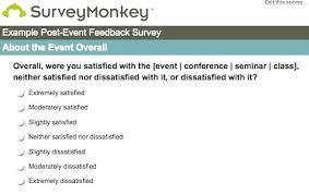 Meeting Survey Template Post Meeting Survey Template Survey Monkey Event Question Post