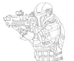 Star Wars Coloring Pages For How Draw Clone Trooper List Colouring