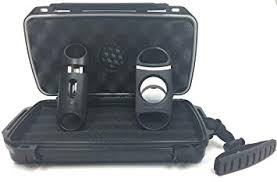 f e s s fess f5 gift set travel cigar humidor waterproof holder case with 80 guage and v