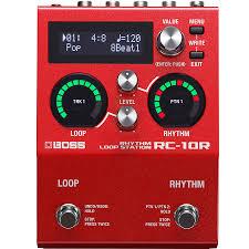 Купить <b>Boss</b> Rhytm <b>Loop Station RC</b>-<b>10R</b> - гитарный <b>эффект</b> по ...