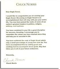 Check Out 30 Of The Coolest Eagle Scout Letters Ive Seen Bryan On