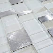 12 x12 metal stone glass mosaic kitchen backsplash bathroom tile single sheet