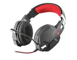 <b>trust gxt 322</b> carus gaming headset - black <b>20408</b>
