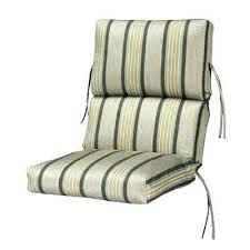 outdoor dining chair cushions high back outdoor dining chair cushions high back chair cushions outdoor pebble