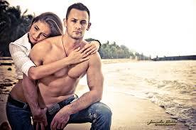 Photos of sexy model couple