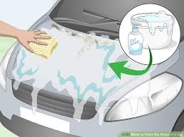 image titled paint the hood of a car step 1