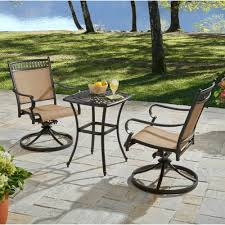 Small Picture Better Homes and Gardens Warrens 3 Piece Aluminum Bistro Set