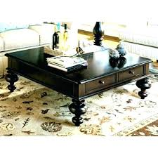 black coffee table with baskets square coffee table with storage baskets medium size of end of
