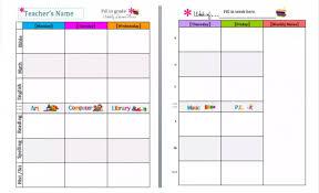 6 Free Editable Lesson Plan Templates For Teachers Utemplates