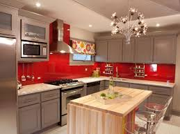 elegant kitchen curtain to add the different nuance. Ideas Adorable Red And White Epoxy Paint For Kitchen Walls It Also Has Black Warm Elegant Curtain To Add The Different Nuance