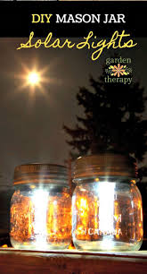 how to easy diy mason jar solar lights free tutorial