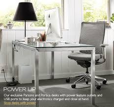 modern office desks furniture. fine modern desks with outlets and usb ports  alden office armoire in modern furniture