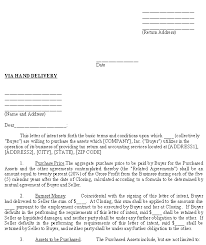 sle letter of intent to purchase