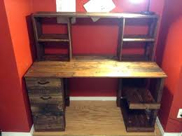 diy pallet wood computer desk with drawers 30 was all it took rustic corner desk with hutch rustic desk with hutch rustic computer desk with hutch