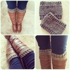 Boot Cuff Knit Pattern