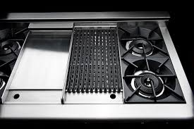 gas range with griddle top. Delighful With Built In Gas Cooktop With Griddle And Range Top