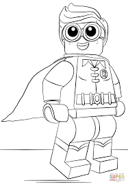 Lego Robin Coloring Page From The