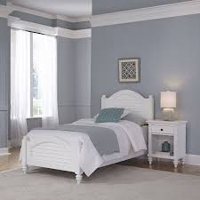 white twin bed. Home Styles Furniture Bermuda White Twin Bed And Night Stand T