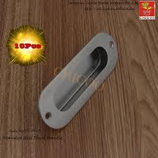 Aliexpress.com : Buy 10pcs Oval Flush Recessed Pull Door Handle ...