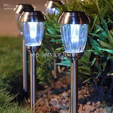 LED Outdoor Lights To Plug The Lamp LED Solar Garden Landscape Led Solar Powered Garden Lights