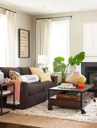 living rooms with brown furniture. 12 pesky storage problems and how to solve them dark brown sofasdark living rooms with furniture