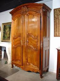 wood armoire th century walnut wood armoire from the rhone