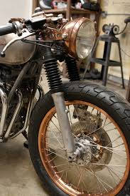 brass instead of chrome unique ideas for your bike pinterest