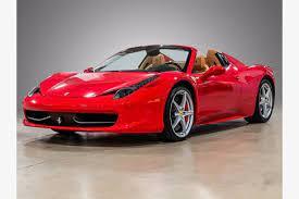 Ferrari 458 Spider For Sale At Dealership