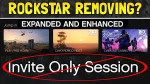 rockstar might remove invite only