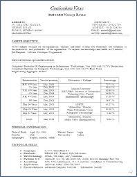 Best Cv Format Word Document Resume Example
