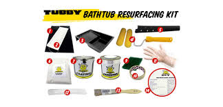 bath kit bathtub resurfacing kit process 0 tubby resurfng kit 1