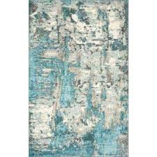 teal grey area rug 710 x 1010 and gray rugs azurine distressed abstract the home depot teal and grey area rug gray