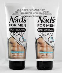 2 x the original nad s hair removal cream for men new formula and fragrance