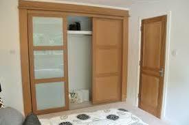 wooden wardrobe with sliding doors in lagos