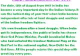 festivals page of  15 2016rdquoindependence day speech for teachers students
