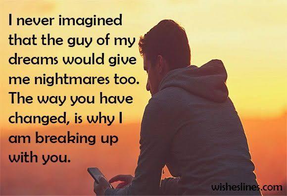 break up messages for girlfriend