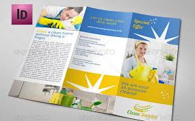 Cleaning Brochure 9 Nice Cleaning Service Flyer Brochure Templates Design