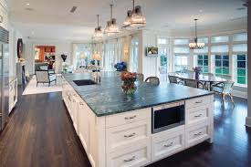 Hi Tech Kitchen With Large Island contemporary-kitchen