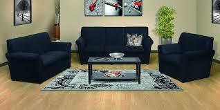 Jodi 3 Piece Lounge Suite, Black - Russells