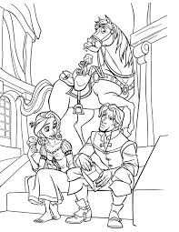 Small Picture Disney Coloring Pages Tangled Coloring Pages