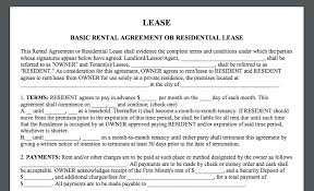 A rental agreement form includes details of landlord, tenant, rent amount duration and rent agreement clauses. How To Create A Basic Rental Agreement Eversign