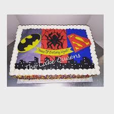superhero sheet cake superhero sheet cake yelp