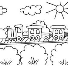 Small Picture Train Coloring Pages For Toddlers Archives Mente Beta Most