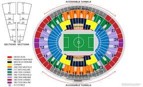 Rose Bowl Seating Chart U2