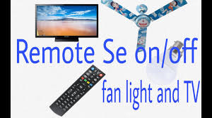 Fan And Light Remote Control Circuit How To Make Light And Fan Remote Control Circuit In Hindi 100 Working