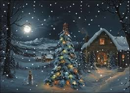 Animated Snow Scenes Pin On Moving Christmas Photos