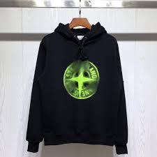 Designer Brand With Compass Logo 2019 Stone Island Designer Luxury Mens Hoodie Tide Brand Boutique Sweatshirt Phantom Compass Logo Large Print Plus Velvet Thick Couple Hoodie From