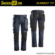 Snickers 6241 Allroundwork Stretch Holster Pocket Trousers Snickers Trousers