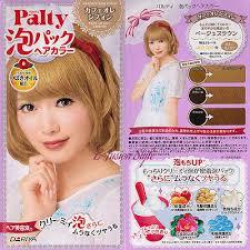 dariya palty bubble trendy hair dye